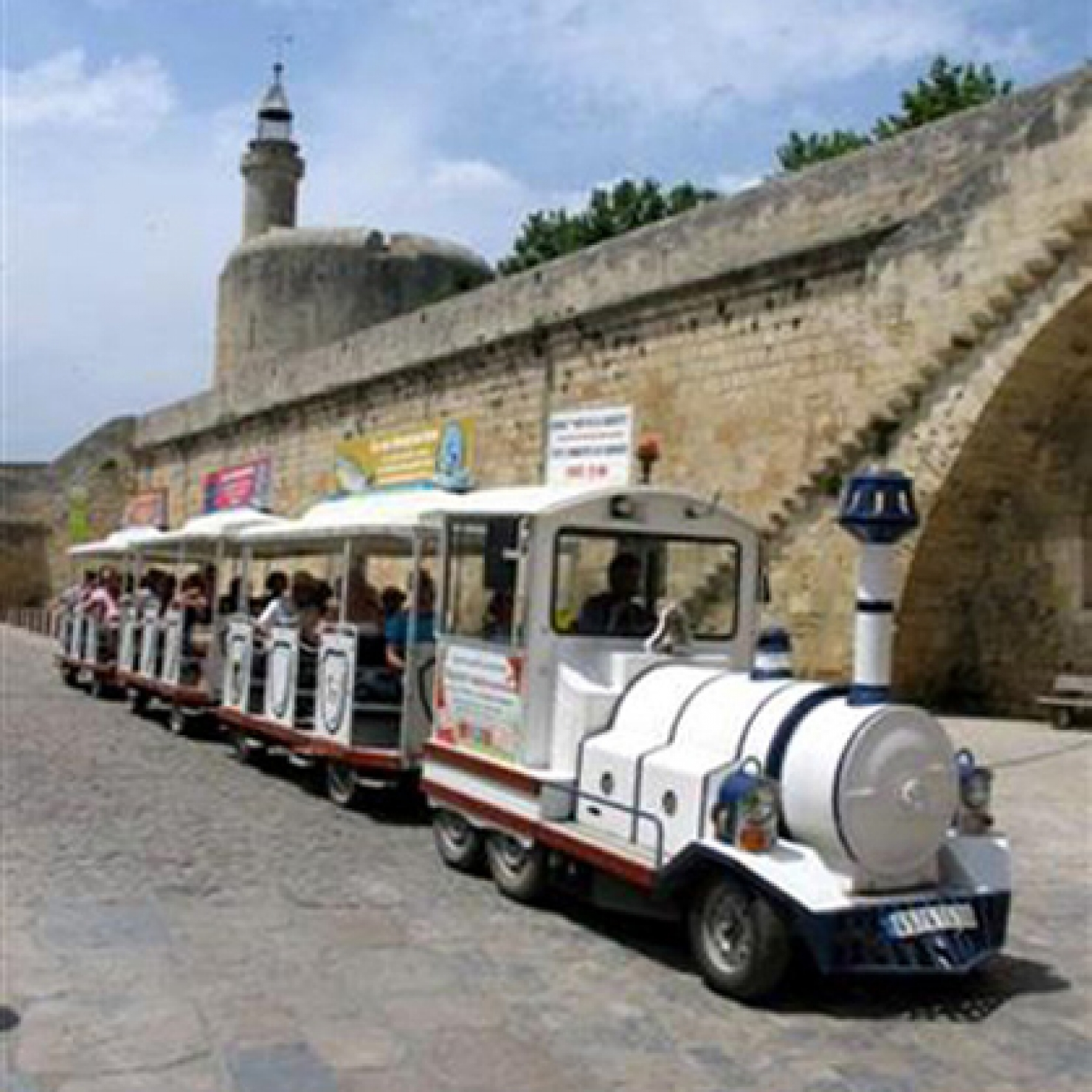 Petit train Aigues Mortes